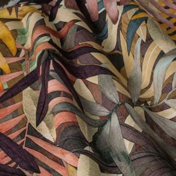Tkaniny na zasłony z nadrukami i wzorami