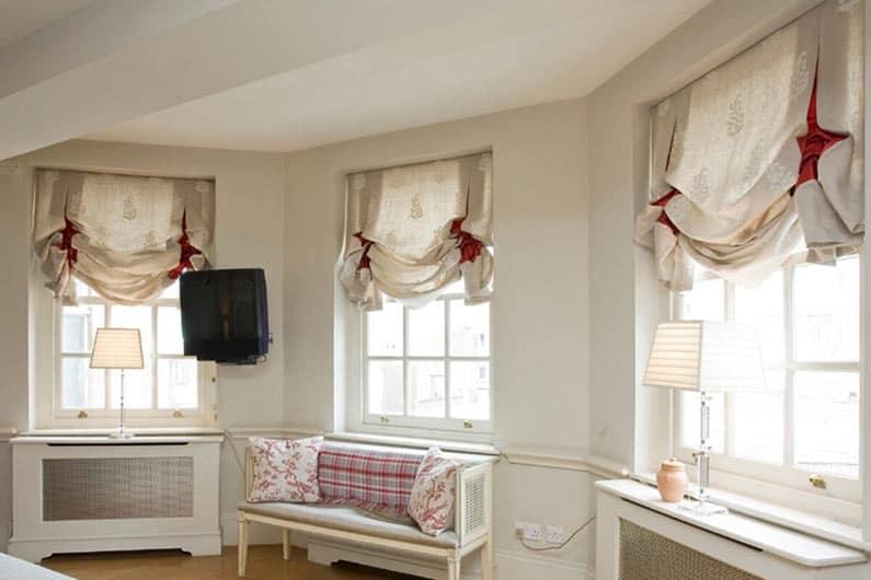 лондонские шторы фото